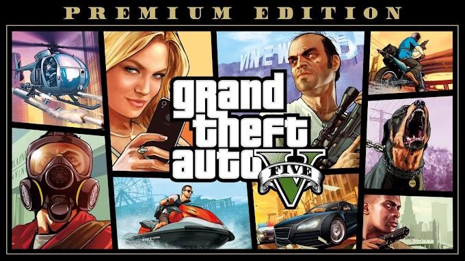GTA V: Edição Premium de GRAÇA!