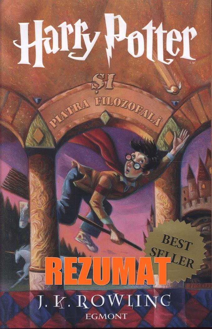 Rezumat Harry Potter si piatra filozofala