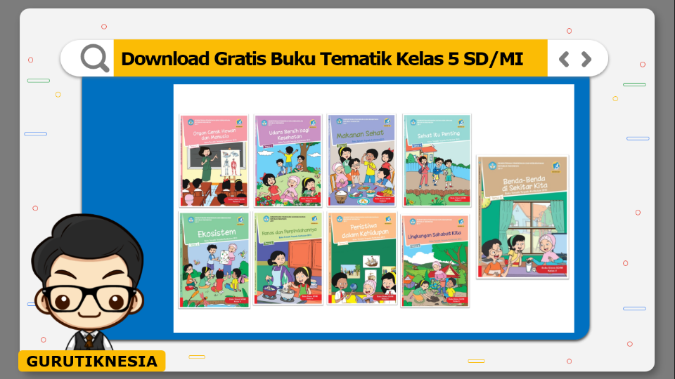 download gratis buku tematik kelas 5 sd/mi