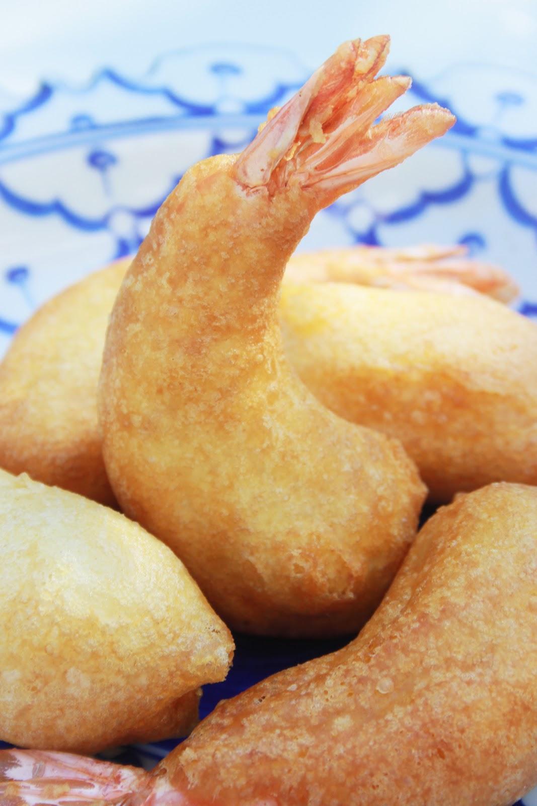 la cuisine de bernard beignets aux crevettes