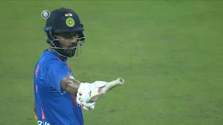 KL Rahul 91 vs West Indies Highlights