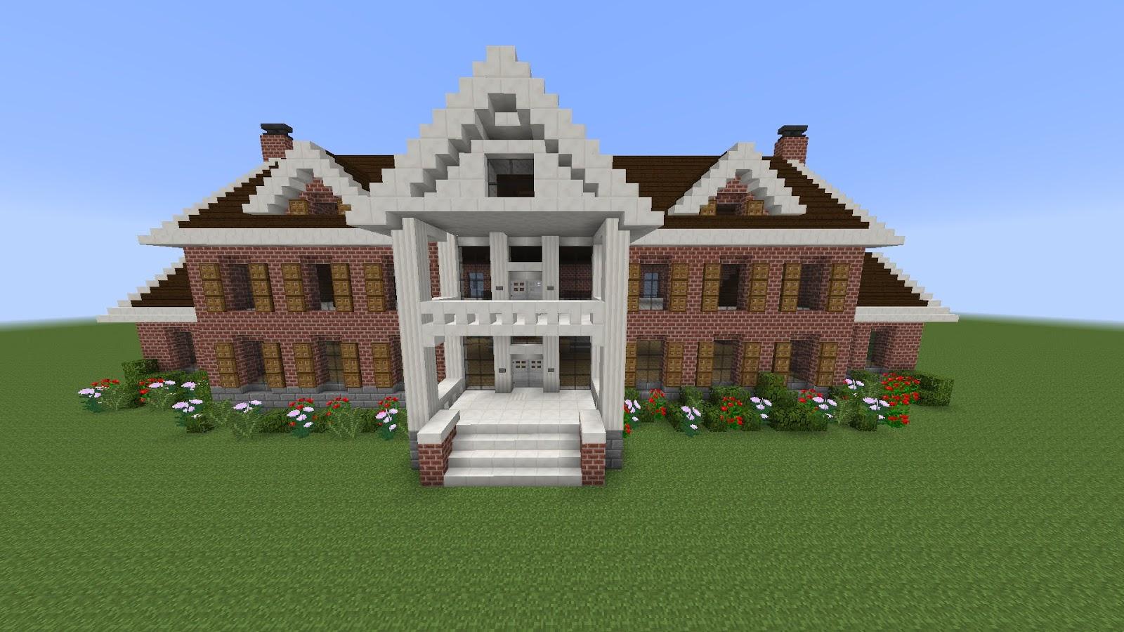 Minecraft la mansi n encantada producciones pan for Minecraft casas de lujo