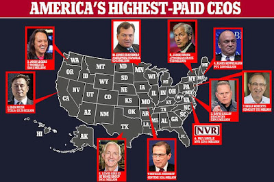 Tesla's Elon Musk tops the list of America's highest paid CEOs by state