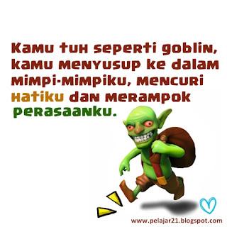 dp bbm meme coc goblin