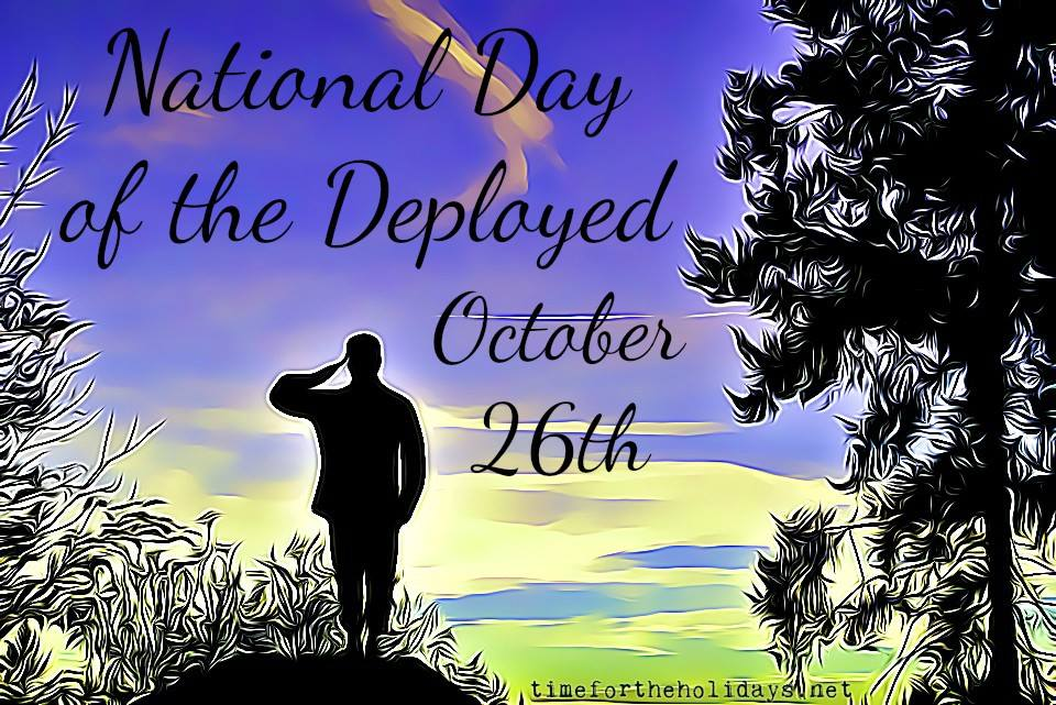 National Day of the Deployed Wishes Unique Image