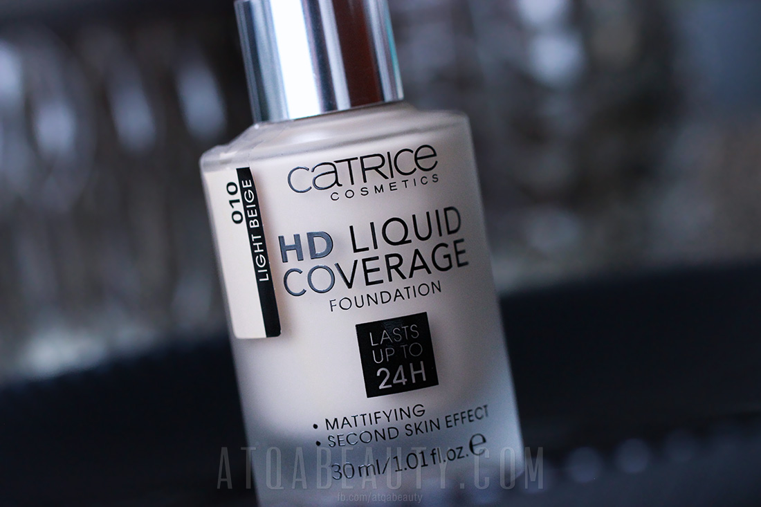 Catrice HD Liquid Coverage w odcieniu 010 Light Beige