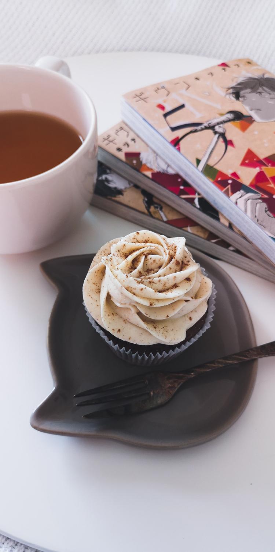 Schokoladen Cupcakes mit Zimt-Frosting