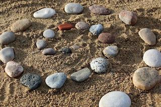 nature rocks zen