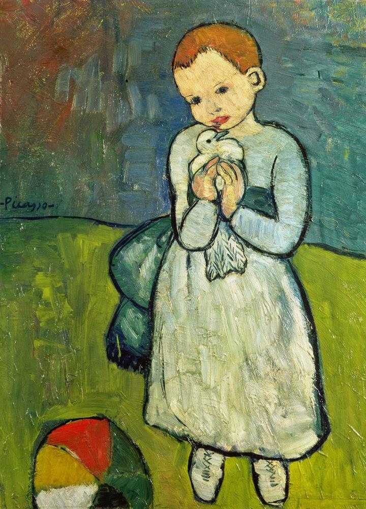 """Αποτέλεσμα εικόνας για Το κορίτσι με το περιστέρι"""".."""