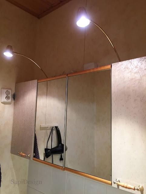 peilikaappi wc remontti