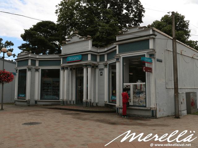 Junalla Jurmalaan Majori-asemalle