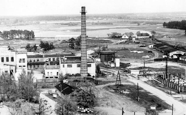"""1960-е годы. Восточная часть бумажной фабрики """"Югла"""""""