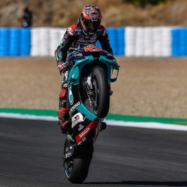 Fabio Quartararo Juara MotoGP Jerez 19 Juli 2020