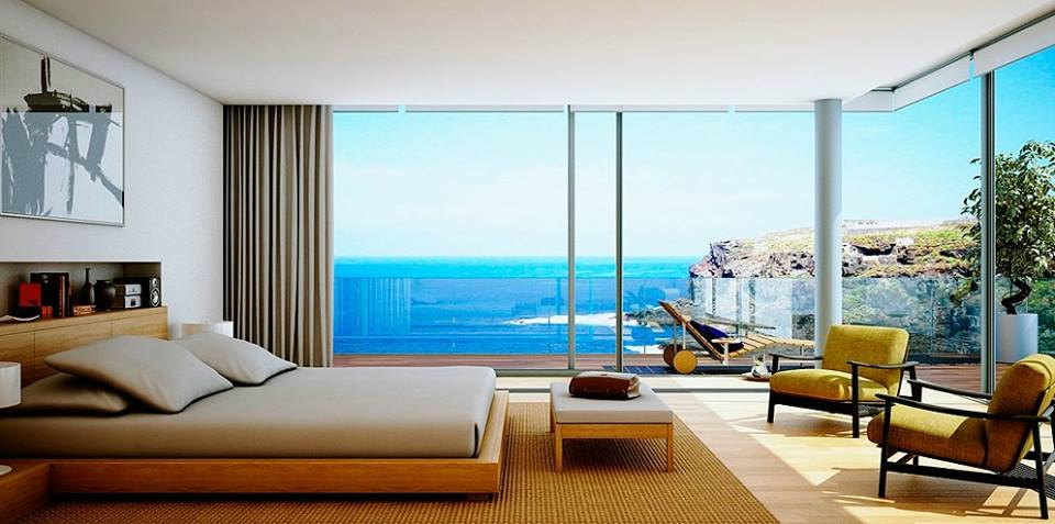 Awesome modern bedroom design 2016 with beautiful scenery for Beautiful contemporary bedrooms