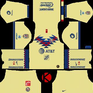 Club America 2019/2020 Kit - Dream League Soccer Kits