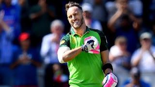 Faf du Plessis 100 vs Australia Highlights