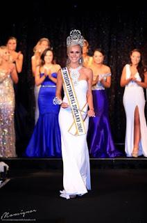 Victor Perezs Girlfriend Abigail Gliksten Winning The Miss Intercontinental Scotland In
