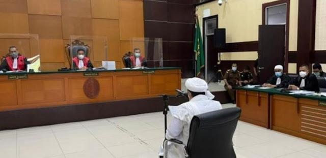 Jaksa 'Nasehati' Habib Rizieq dengan Hadits Tentang Keturunan Rasulullah SAW di Persidangan