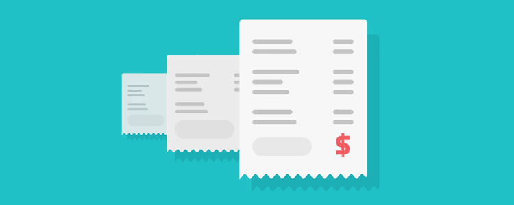 Modelos de recibo de pagamento