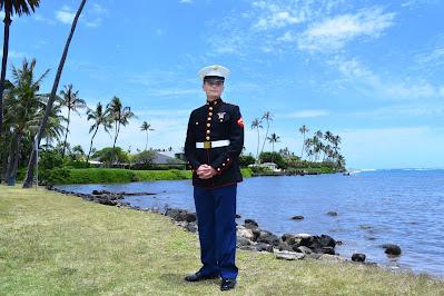 Good-looking Marines