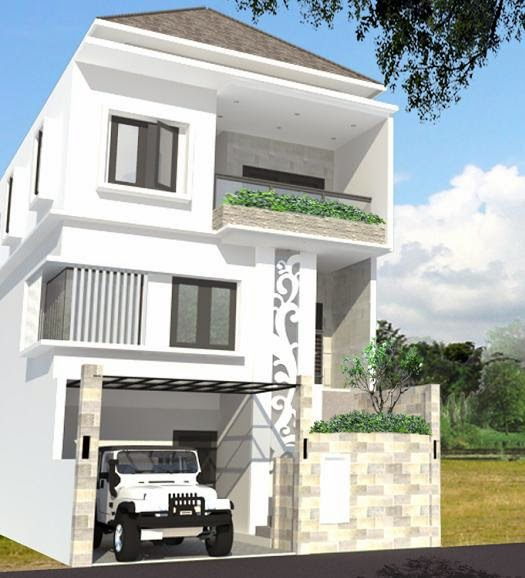 Gambar Desain  Rumah  Lengkap  Dengan  Denahnya Rumah  Agus