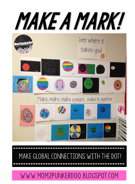 Celebrate student creativity and guide them to thinking about how to make their own marks in the world someday!