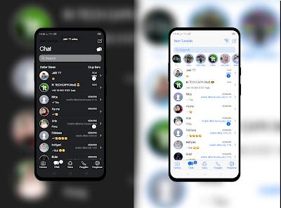 kumpulan Tema RA WhatsApp iOS Dark/White Terbaru 2021,install aplikasi ra wa ios anti banned,download wa mod anti blokir,