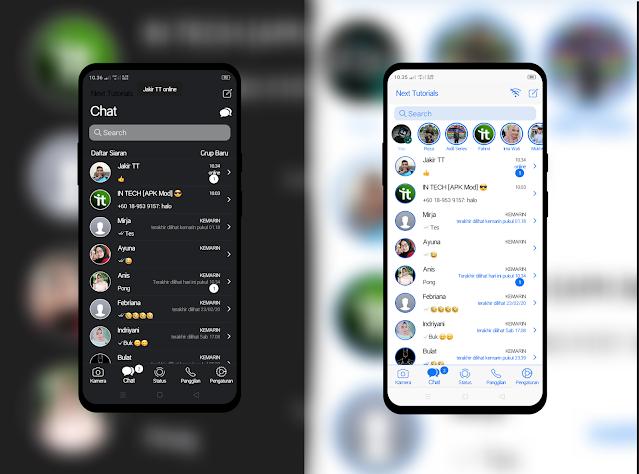 Tema RA WhatsApp iOS v8.93 Tampilan Keren Dark/White Terbaru 2021,install aplikasi ra wa ios anti banned,download wa mod anti blokir,