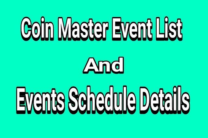 Liste des événements Coin Master - Détails du calendrier des nouveaux événements