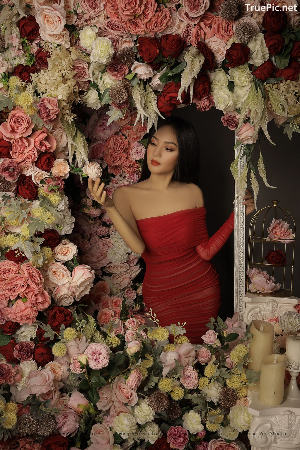 Image Vietnamese Model - Beautiful Girl and Flowers - TruePic.net - Picture-10