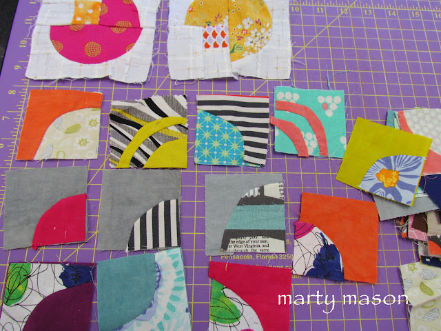 improv applique   - Marty Mason