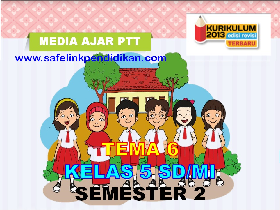Media Ajar Powerpoint Tema 6