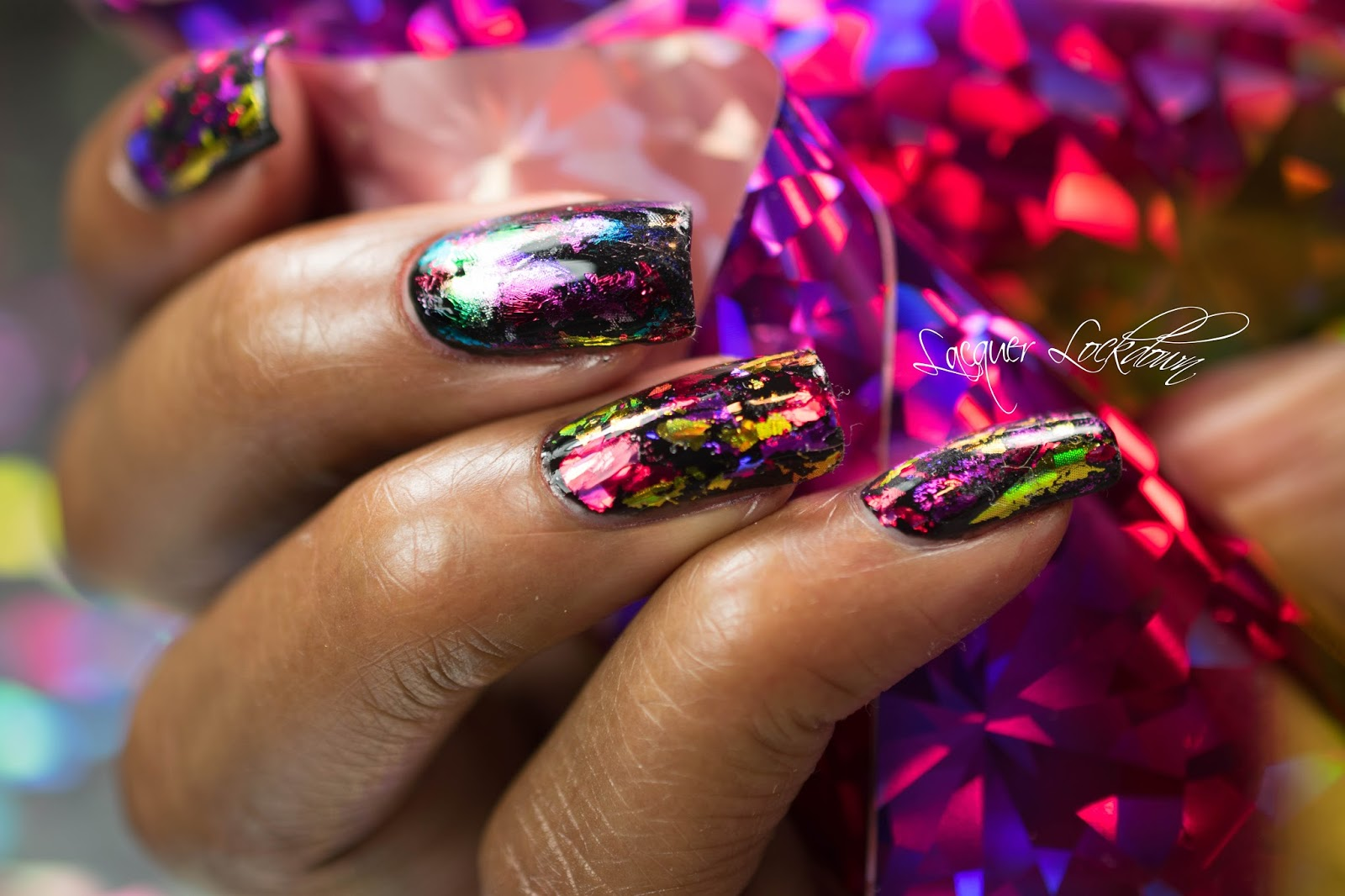 Lacquer Lockdown Lesson Lockdown How To Preserve Your Nail Art Foil Mani S
