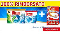 """Logo """"100% rimborsati con Dixan e L'Acchiappacolore"""" : operazione cashback"""