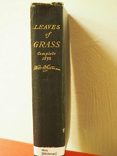 Leaves of grass complete 1892 / Walt Whitman a Uppsala universitets-bibliotek - Karin Boye-biblioteket (Uppsala) per Teresa Grau Ros