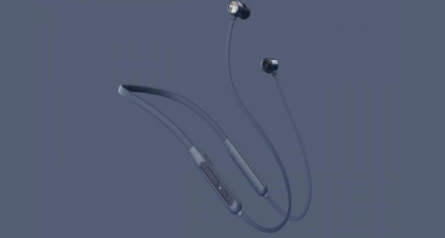 L Mivi Collar Classic Wireless Earphones with 24 Hours Battery Life