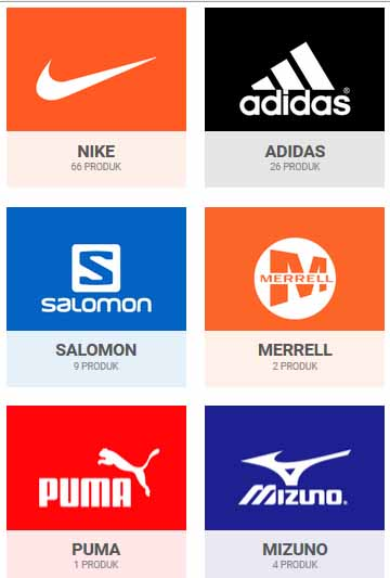 Brand Sepatu Terkenal