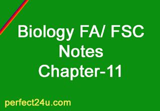 Biology Notes Fa Fsc