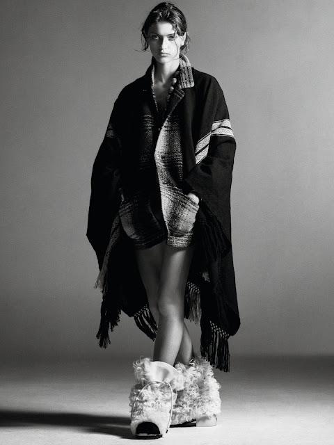 SMILE: Valerie Scherzinger in Vogue Paris October 2021 by Christian MacDonald