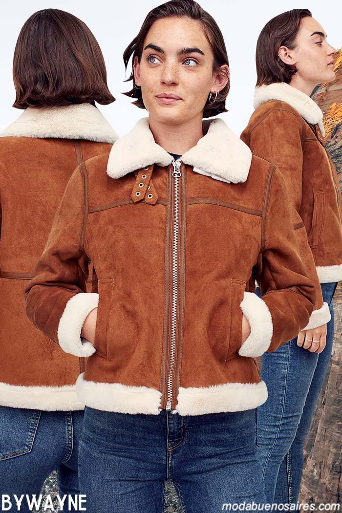 Abrigos invierno 2021 camperas mujer
