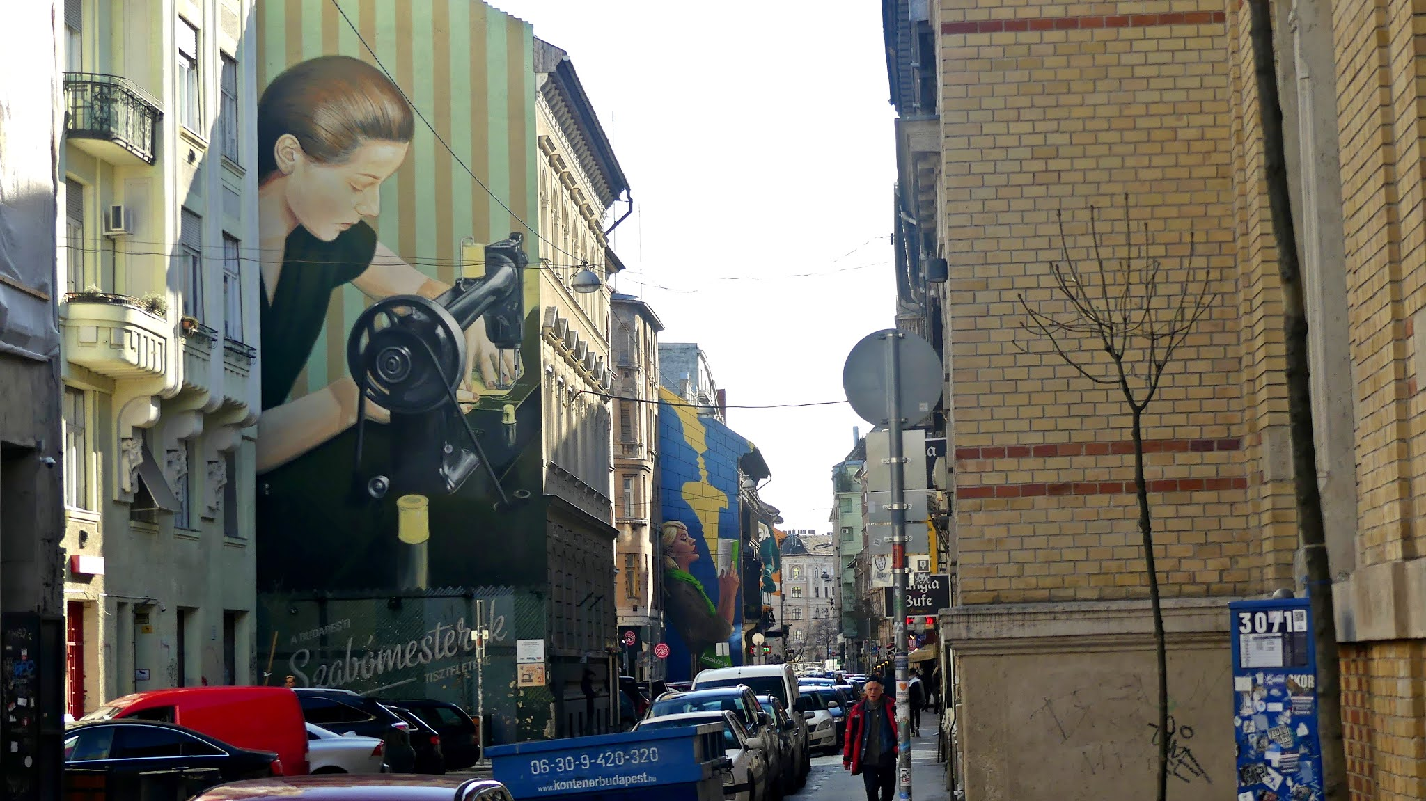Budapeszt na weekend atrakcje murale