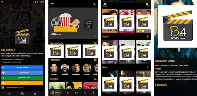 B4Movies -Malayalam Android App
