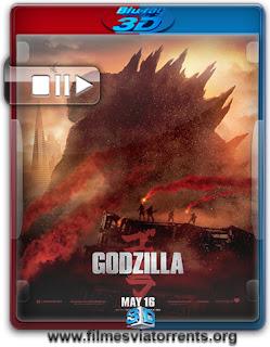 Godzilla Torrent - BluRay Rip 1080p 3D HSBS Legendado (2014)