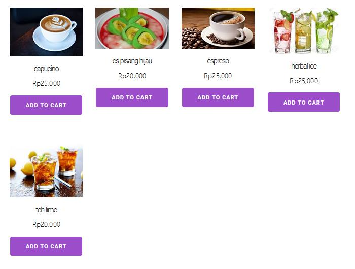 ONLINE SHOP RESTORAN CAFE RUMAH MAKAN