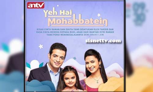 Sinopsis Yeh Hai Mohabbatein Kamis 25 Maret 2021 Episode 53 Sisnet Tv Serial india di antv yang tayang mulai 1 februari 2021, pukul 9.30 wib. sisnet tv