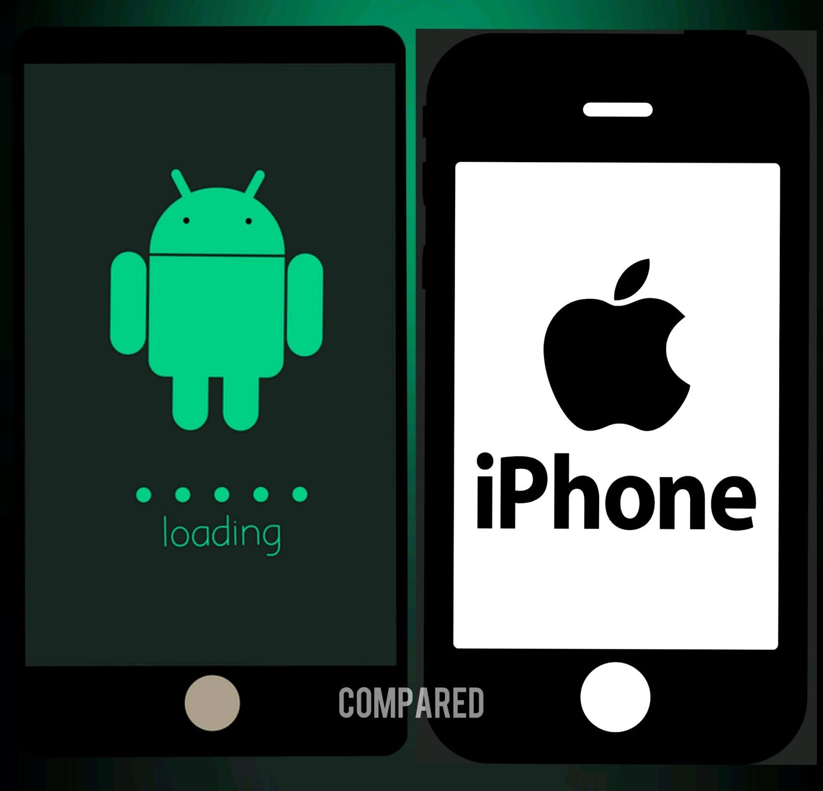 एंड्राइड फोन और आईफोन में क्या अंतर है - समझें इन 20 बिंदुओं में   20 Differences between Android and iPhone