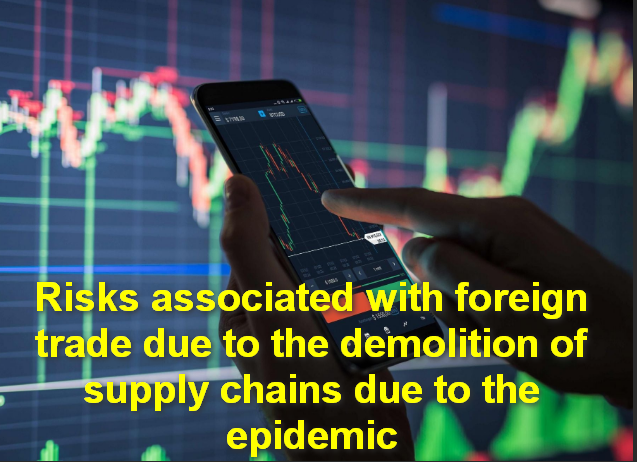 Risks associated with foreign trade due to the demolition of supply chains due to the epidemic