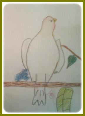 ART CORNER Menggambar  Cara Melukis Burung