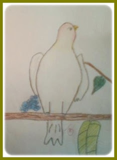 Contoh Lukisan Pasu Bunga Jawkosa