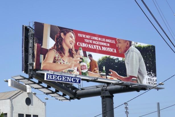 Cabo Santa Monica Stella Artois billboard